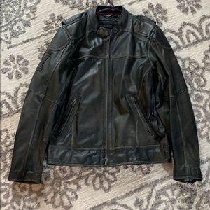 Men's Harley Davidson #1 Skull Leather Jacket
